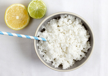 Lemon Lime Coconut Granita